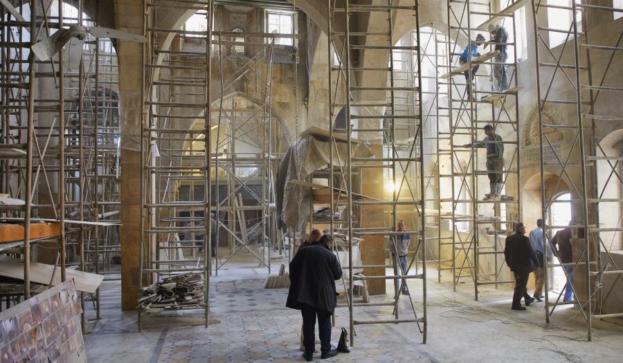Ds. Nseir, Aleppo: 'Herstel van de kerk in Syrië geeft hoop aan een hele gemeenschap'